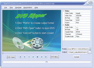 Opell DVD to Zune Converter screenshot